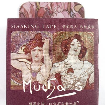 Washi Tape - Alphonse Mucha: Art Nouveau Ladies C
