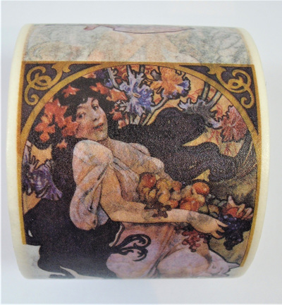 Washi Tape - Alphonse Mucha Art Nouveau Ladies: Style D