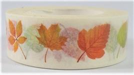 Washi Tape - Autumn Leaves