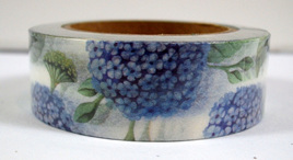Washi Tape - Beautiful Blue Flowers