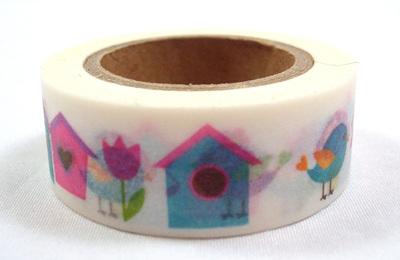Washi Tape - Bird and Birdhouse