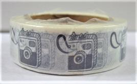 Washi Tape - Black & White Cameras