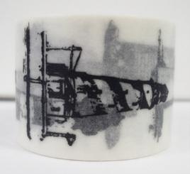 Washi Tape - Black & White Lighthouses