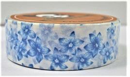 Washi Tape - Blue Flowers
