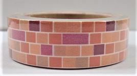 Washi Tape - Brick Pattern