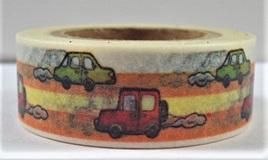 Washi Tape - Cars and Trucks