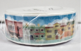 Washi Tape - Cats and Dogs in Town
