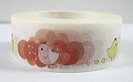Washi Tape - Chickens