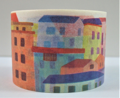 Washi Tape - City in Pastels