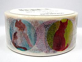 Washi Tape - Colourful Cats