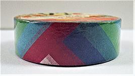 Washi Tape - Colourful Geometric Pattern