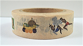 Washi Tape - Country Series: Thailand CLEARANCE