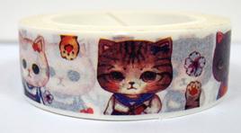 Washi Tape - Cute Cats