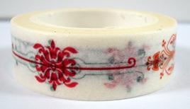 Washi Tape - Fleur-de-Lys Pattern