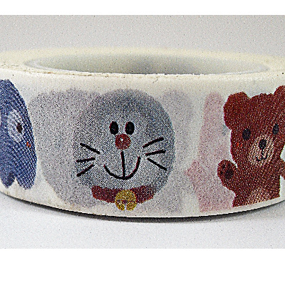 Washi Tape - Funny Animals