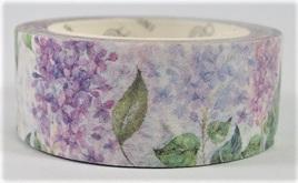 Washi Tape - Gorgeous Purple Flowers