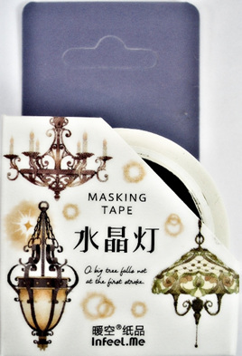 Washi Tape - Gothic-Style Lamps and Chandaliers