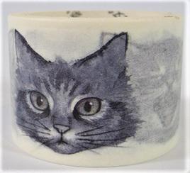 Washi Tape - Grey Cats