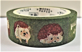Washi Tape - Hedgehogs