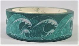 Washi Tape - Japanese-Style Waves