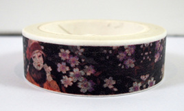 Washi Tape - Ladies in Hats