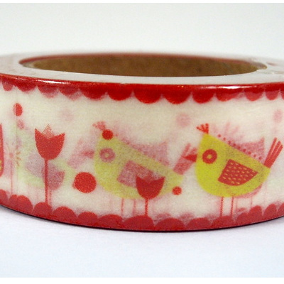 Washi Tape - Little Red Birds