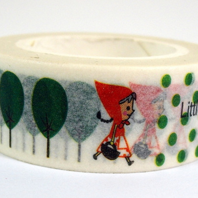 Washi Tape - Little Red Riding Hood