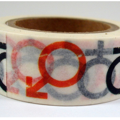 Washi Tape - Male & Female Symbols