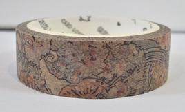 Washi Tape - Mucha Art Nouveau Floral Pattern