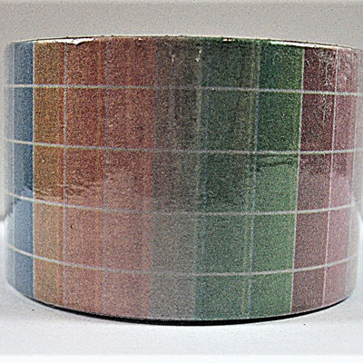Washi Tape - Multi-Coloured Tile Pattern