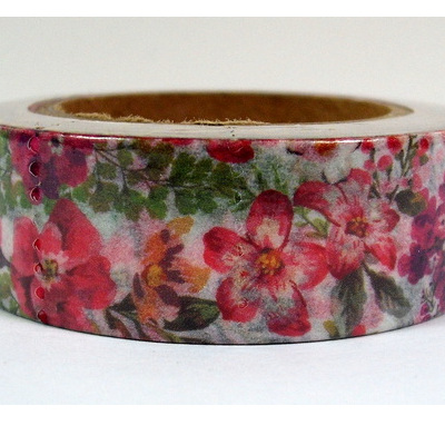 Washi Tape - Pink Flowers