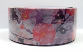 Washi Tape - Pink & Purple Flowers