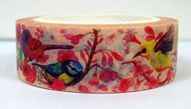 Washi Tape - Pretty Birds & Flowers