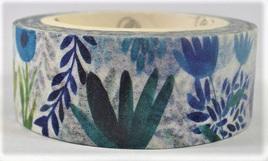 Washi Tape - Pretty Blue Flowers