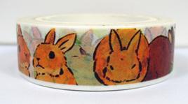 Washi Tape - Rabbits