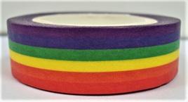 Washi Tape - Rainbow Stripes