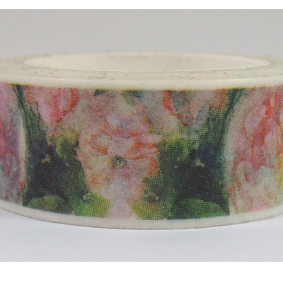 Washi Tape - Soft Pink Flowers