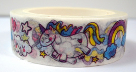 Washi Tape - Unicorns and Rainbows