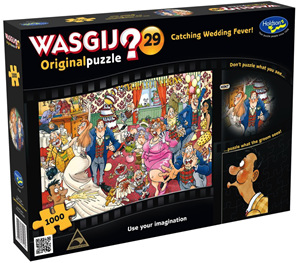 Holdson Wasjig 1000 Piece Jigsaw Puzzle: Original 29 Catching Wedding Fever