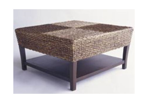 Water Hyacinth Checker Coffee Table Conservatory New Zealand