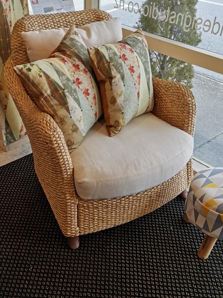 Water Hyacinth Duo Arm Chair
