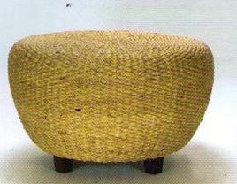Water Hyacinth Druma Side Table