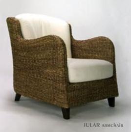 Water Hyacinth Jular Arm Chair