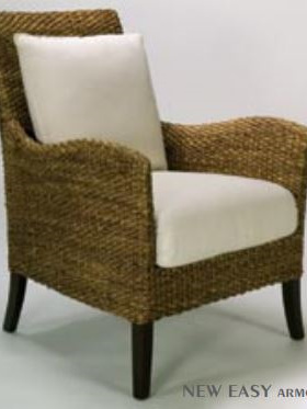 Water Hyacinth New Easy Arm Chair