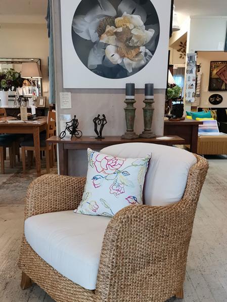 Water Hyacinth Jules  Arm Chair