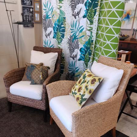 Water Hyacinth Newton  Arm Chair