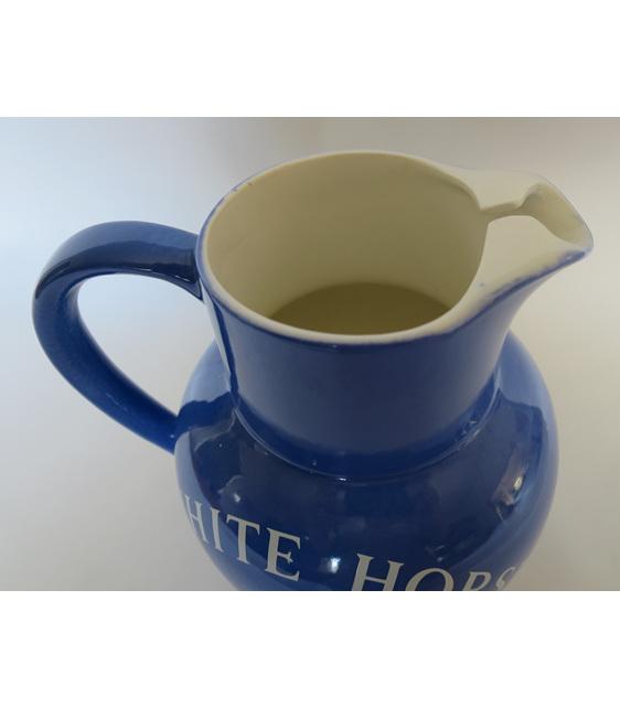 Water jug white horse