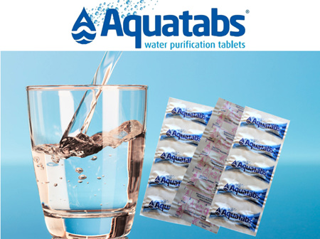 Water Purification (Aquatabs) 10 Tablet Pack