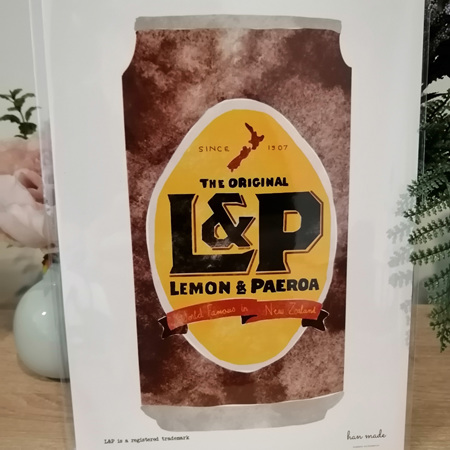 Watercolour L&P Can A4 Print