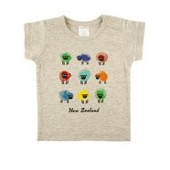 Watercolour Sheep Baby Tee